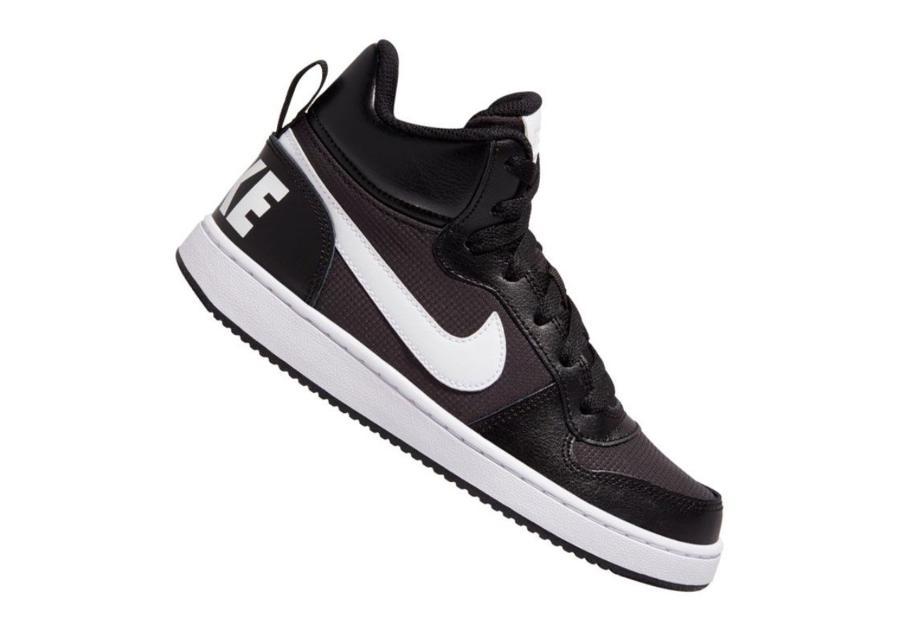Lasten vapaa-ajan kengät Nike Court Borough Mid PE (GS) Jr BV1607-001