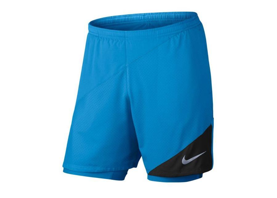 Miesten treenishortsit Nike 7 Flex 2in1 Distance Run M 834222-436