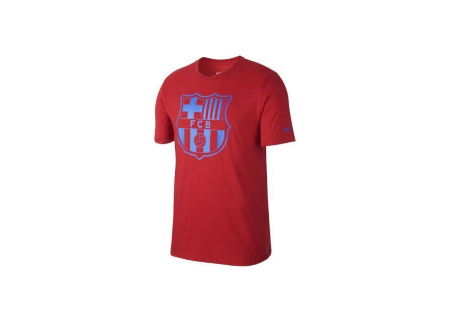 Miesten jalkapallopaita Nike FC Barcelona Crest Tee M 832717-687