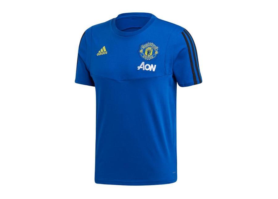 Miesten jalkapallopaita Adidas MUFC Tee T-shirt M DX9021