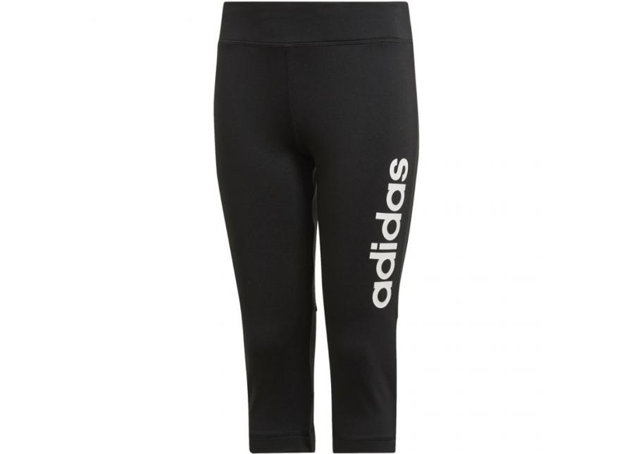 Lasten treenileggingsit Adidas TR Linear 3/4 tight JR