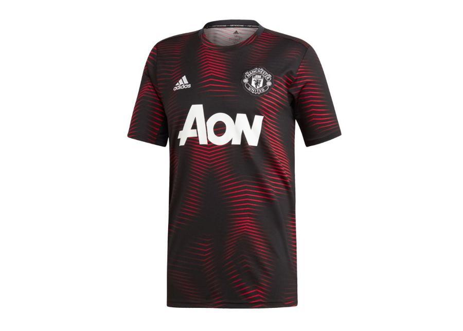 Miesten jalkapallopaita Adidas MUFC Home Pre Match 18/19 M DP2285