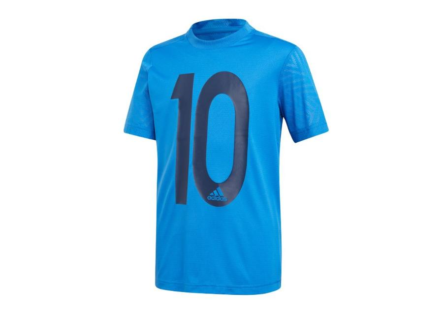 Lasten jalkapallopaita Adidas Messi Icon Jersey T-shirt JR DV1317