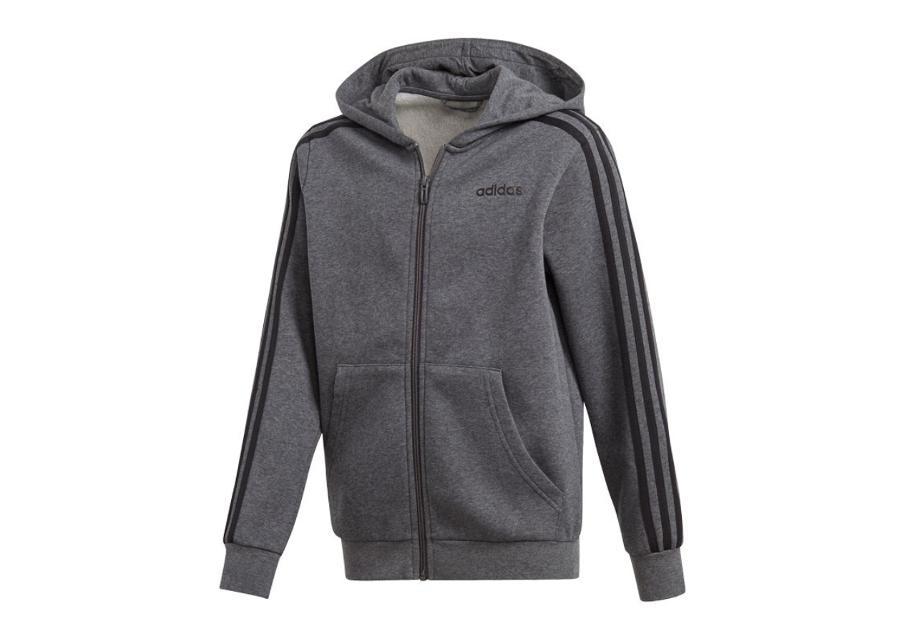 Lasten huppari adidas Essentials 3S Full Zip Hoodie JR DX2474