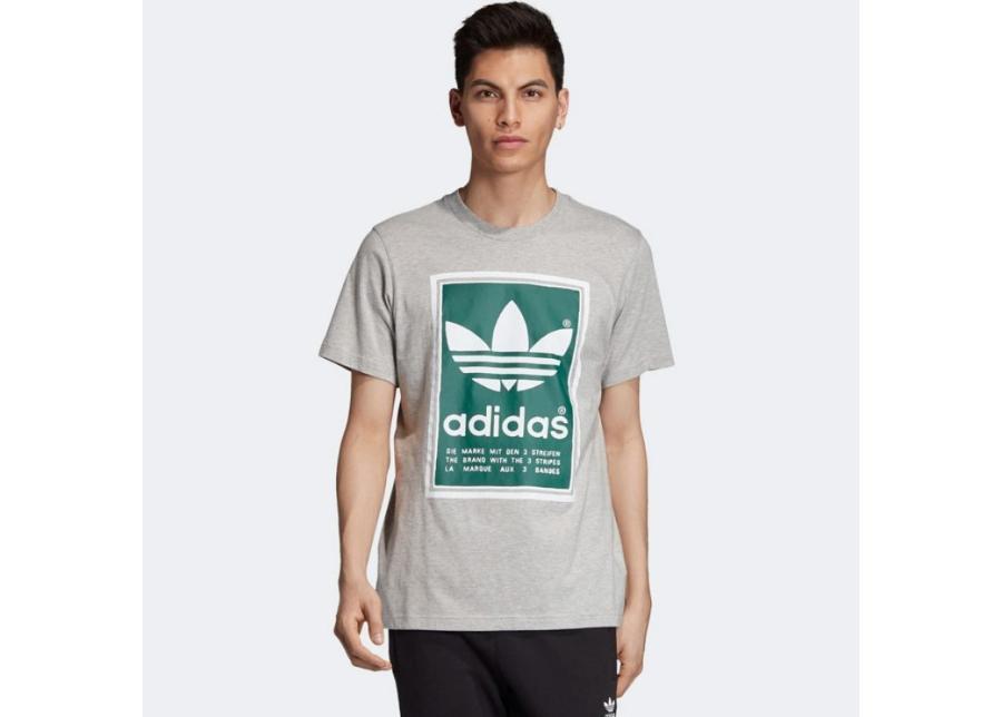 Miesten vapaa-ajanpaita adidas Originals Filled Label M ED6939