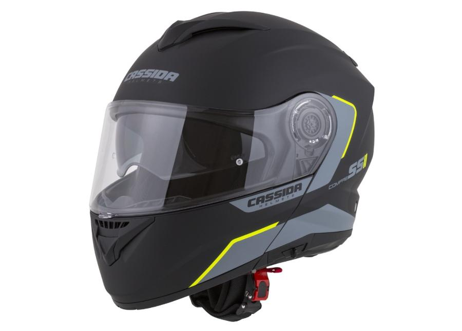 Moottoripyöräkypärä Cassida Compress 2.0 Refraction
