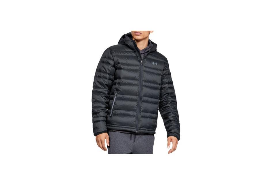Miesten untuvatakki Under Armour Down Hooded Jacket M 1342738-001