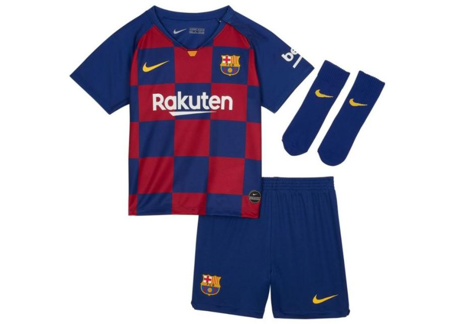 Lasten jalkapalloasu Nike FC Barcelona I Breathe Kit Home Junior AO3072-456