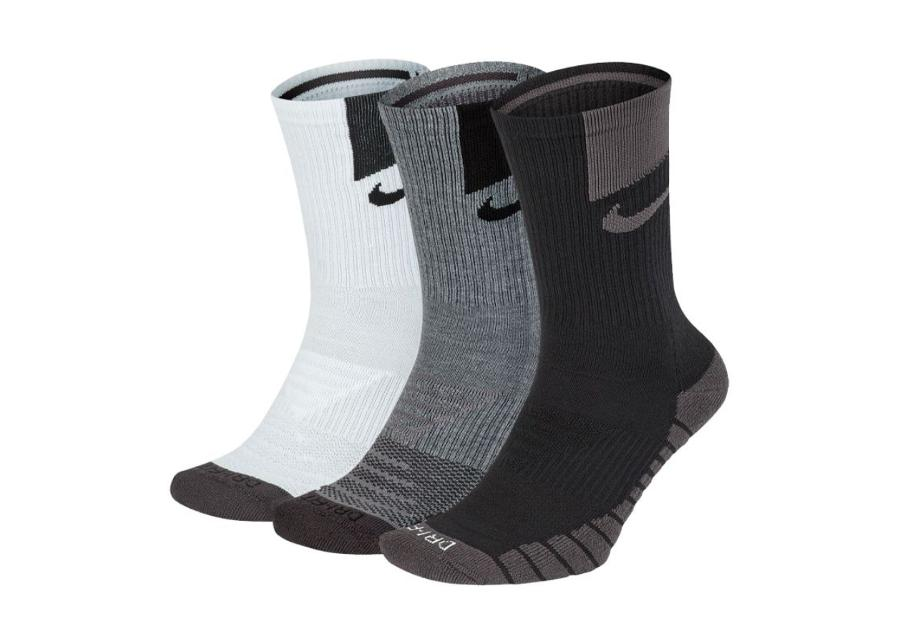 Miesten urheilusukat Nike Everyday Max Cushion Crew 3-pakkaus M SX7839-911