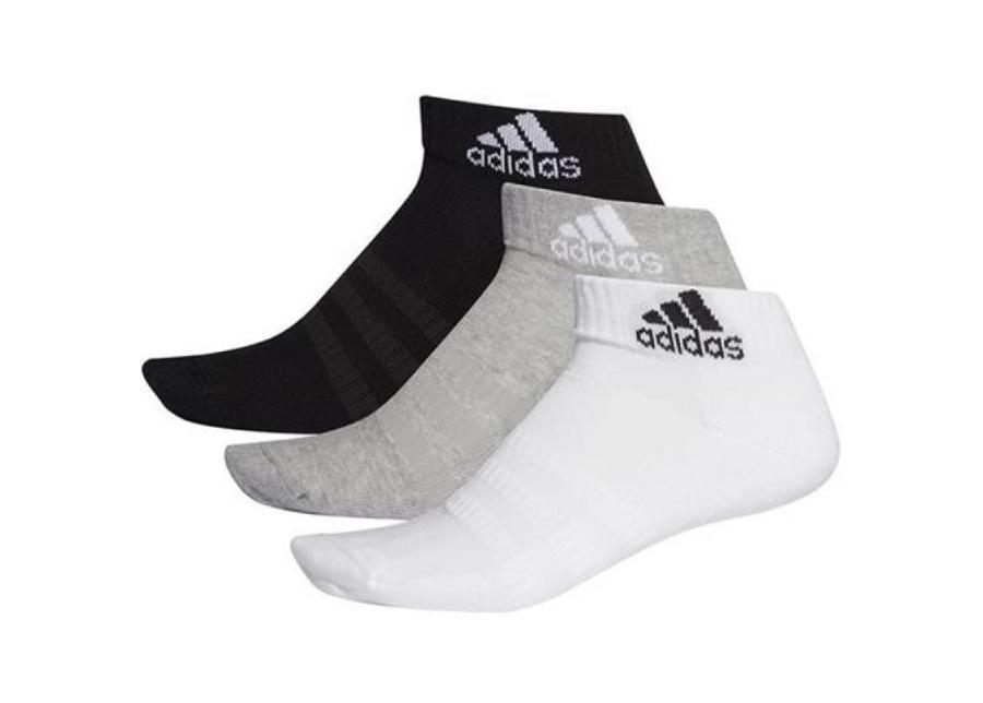 Urheilusukat Adidas Cushioned Ankle 3PP DZ9364
