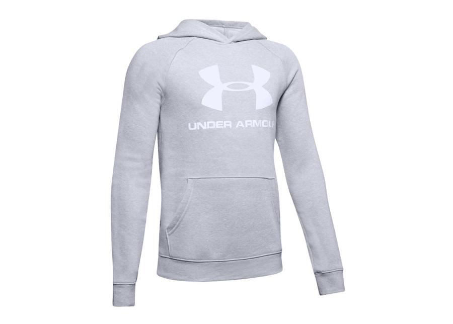 Lasten huppari Under Armour Rival Logo Hoody JR 1325328-012