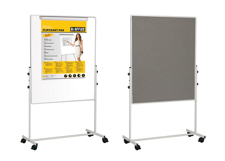 Luentotaulu kaksipuoleinen Bi-office 100x100 cm