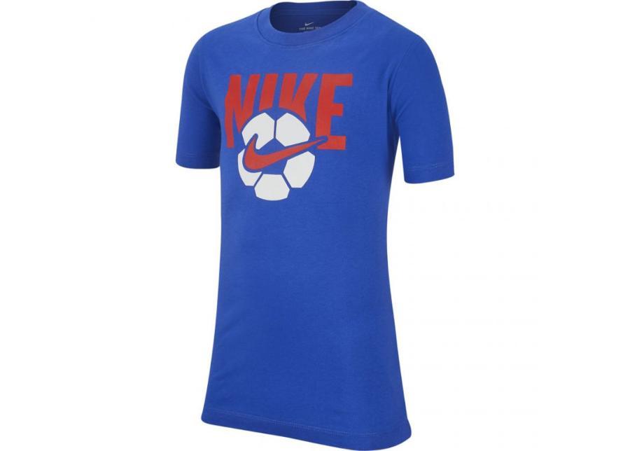 Lasten vapaa-ajanpaita Nike B NSW Tee Soccer Ball Jr AR5286 480