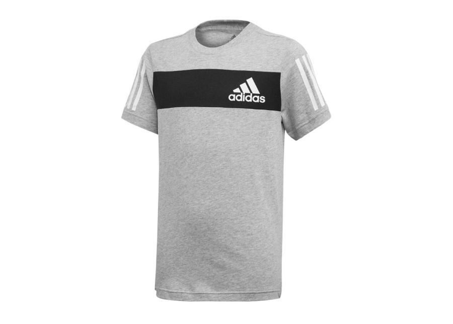 Lasten vapaa-ajanpaita adidas JR Sport ID Tee T-shirt Jr ED6502