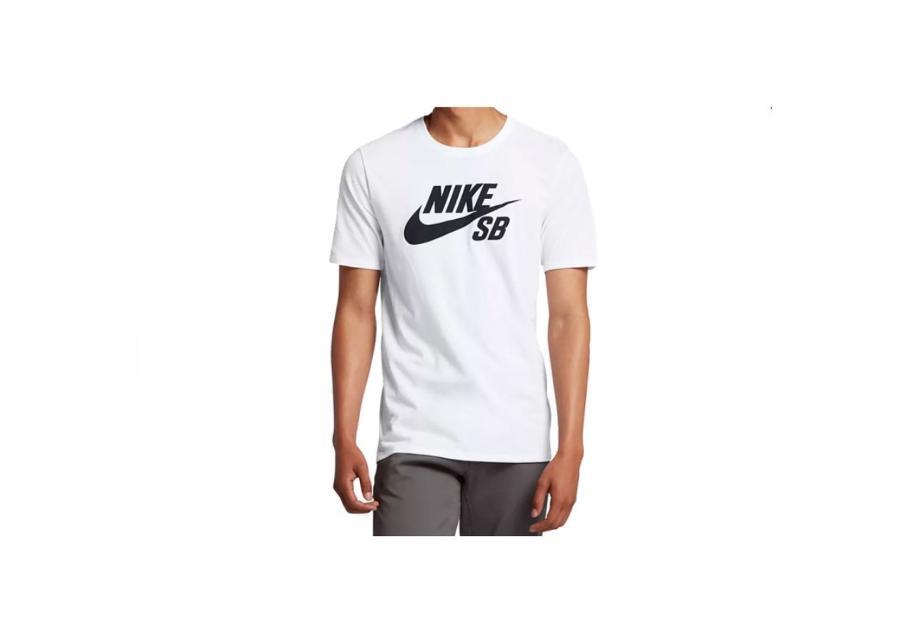 Miesten vapaa-ajanpaita Nike SB Logo Tee M 821946-100