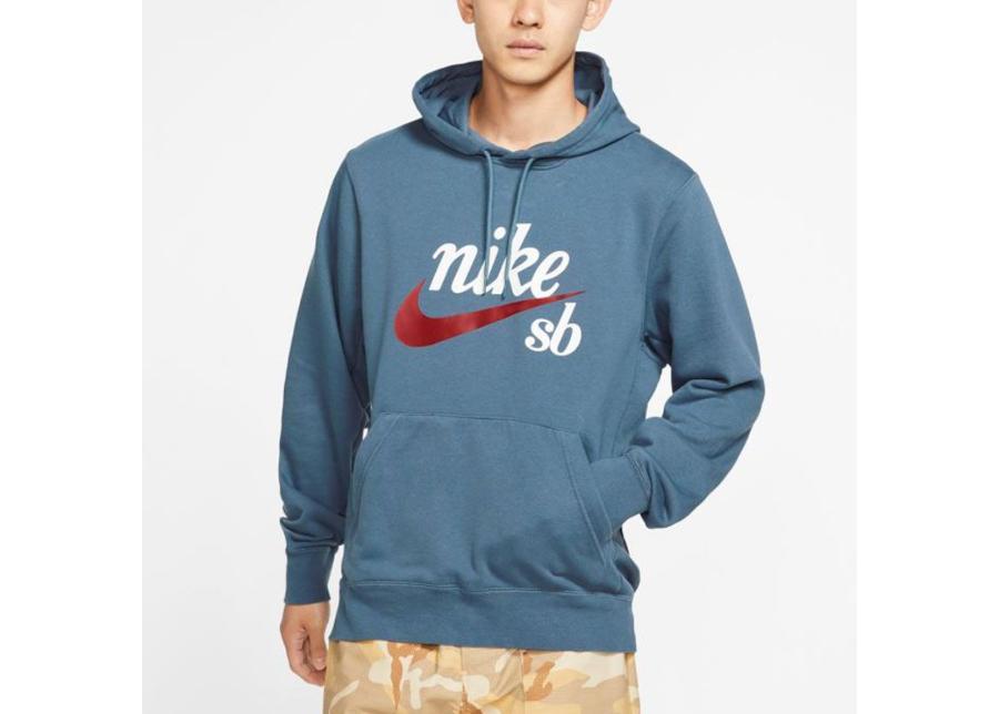 Miesten huppari Nike SB Hoody Washed Icon M AO0263-452