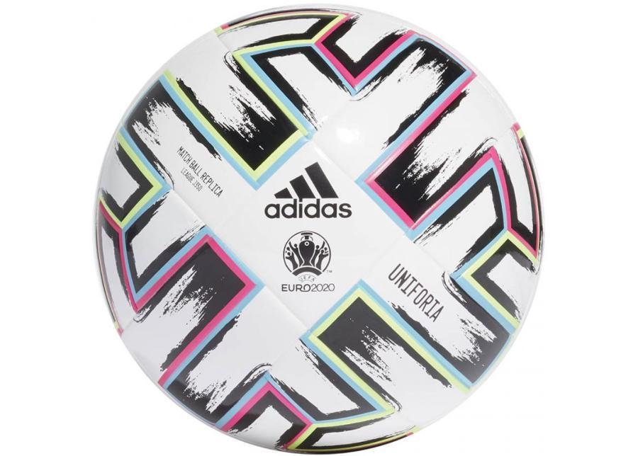 Jalkapallo adidas Uniforia League Jr 350gr Euro 2020 FH7357
