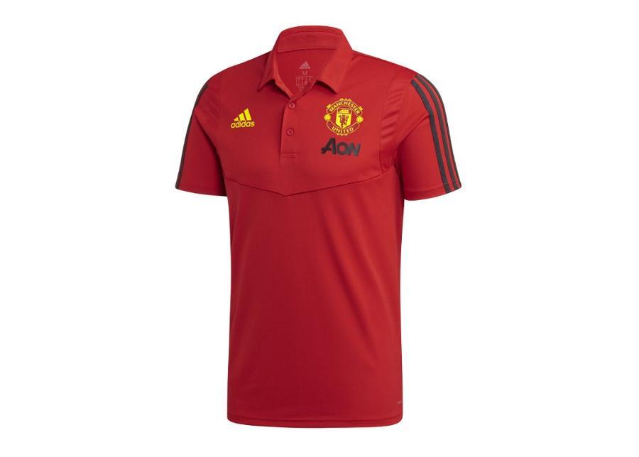 Miesten jalkapallopaita adidas MUFC CO Polo M FJ4491