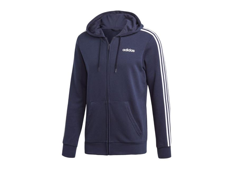 Miesten huppari adidas Essentials 3 Stripes FZ French Terry M DU0471