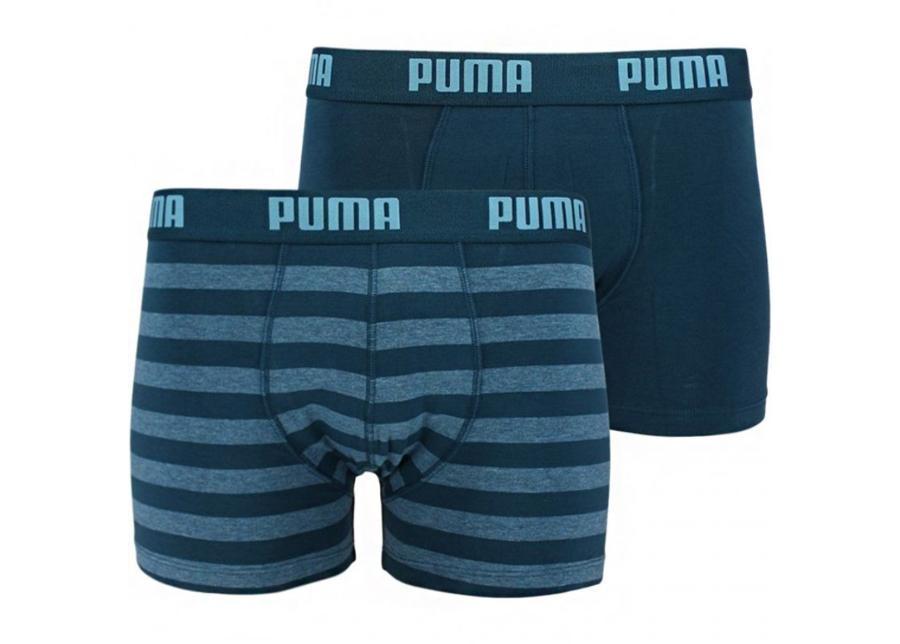 Miesten alushousut Puma Stripe 1515 Boxer 2 paria M 162