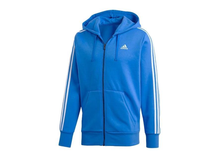 Miesten huppari Adidas Essentials 3-Stripes FZ Brushed M DN8799