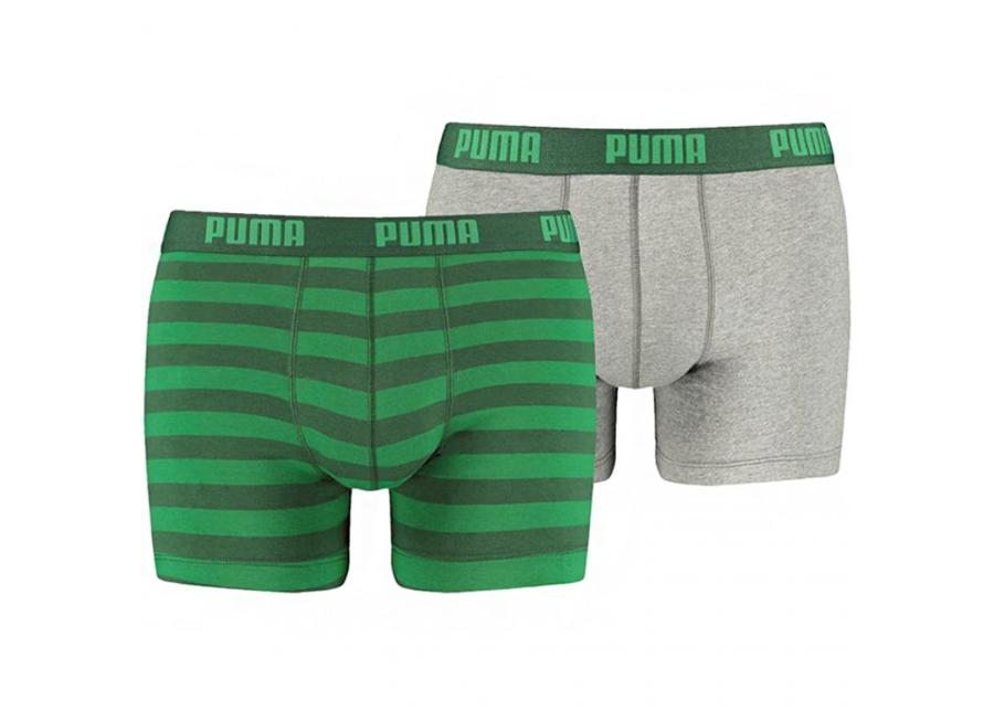 Miesten alushousut Puma Stripe 1515 Boxer 2 paria M 327