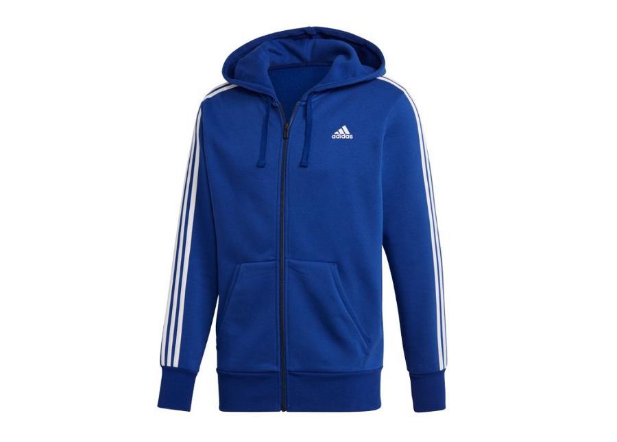 Miesten huppari Adidas Essentials 3-Stripes FZ Brushed M CZ7358