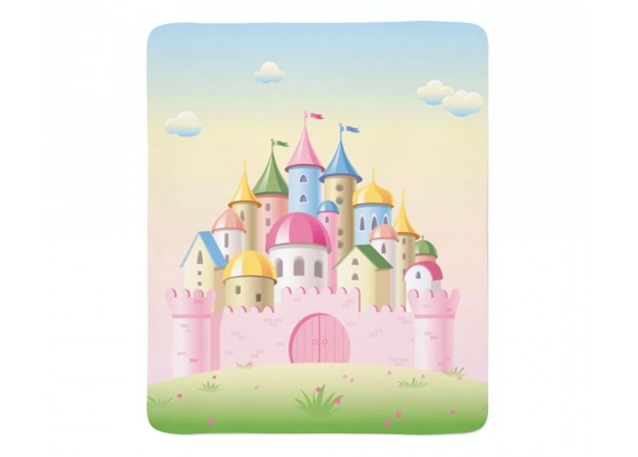 Fleecepeitto Pink Castle 130x150 cm