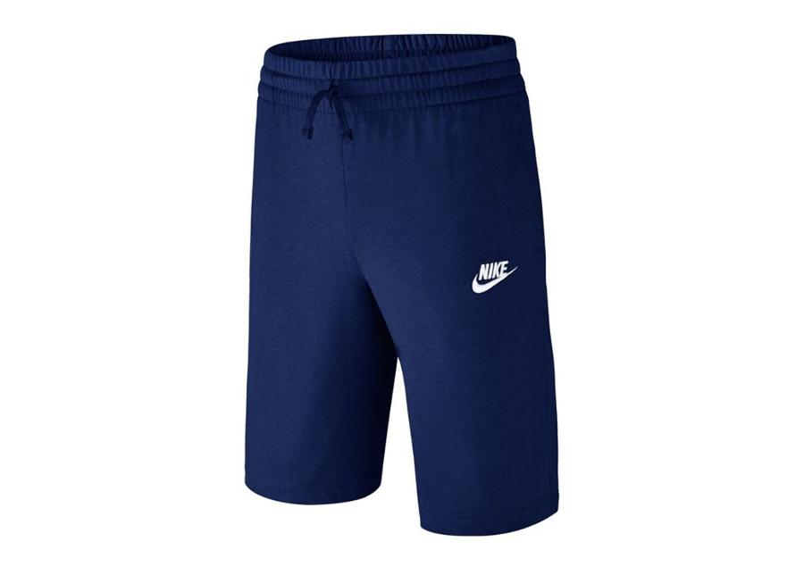 Lasten treenishortsit Nike NSW Jersey Short Jr 805450-478