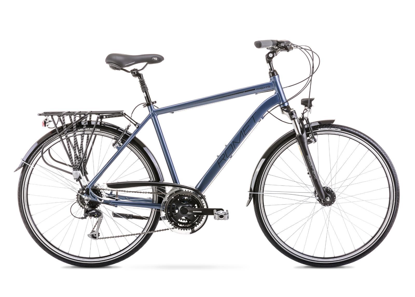 Miesten kaupunkipyörä 23 XL WAGANT 5 hopeanvärinen