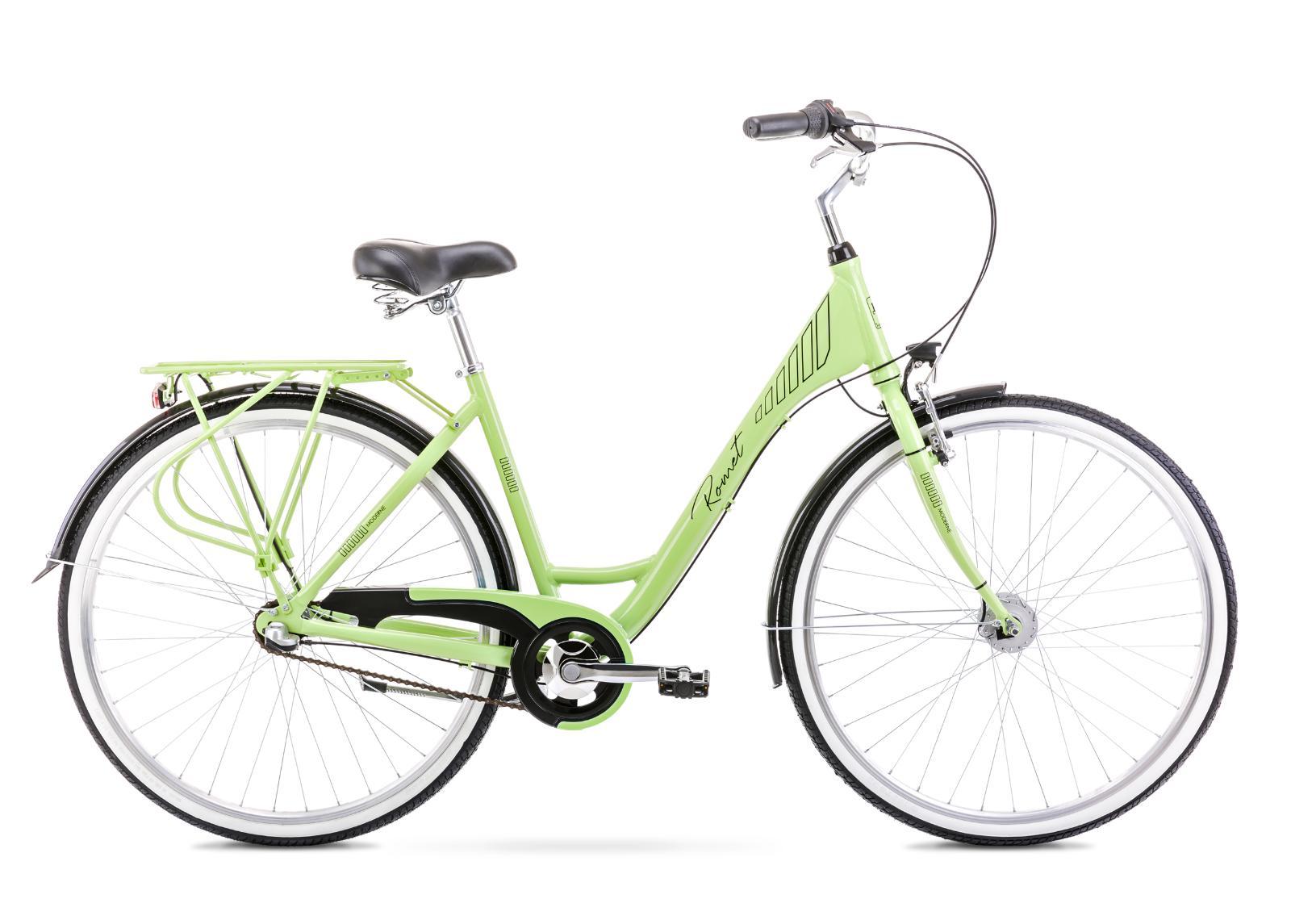 Naisten kaupunkipyörä 17 M MODERNE 3 lime