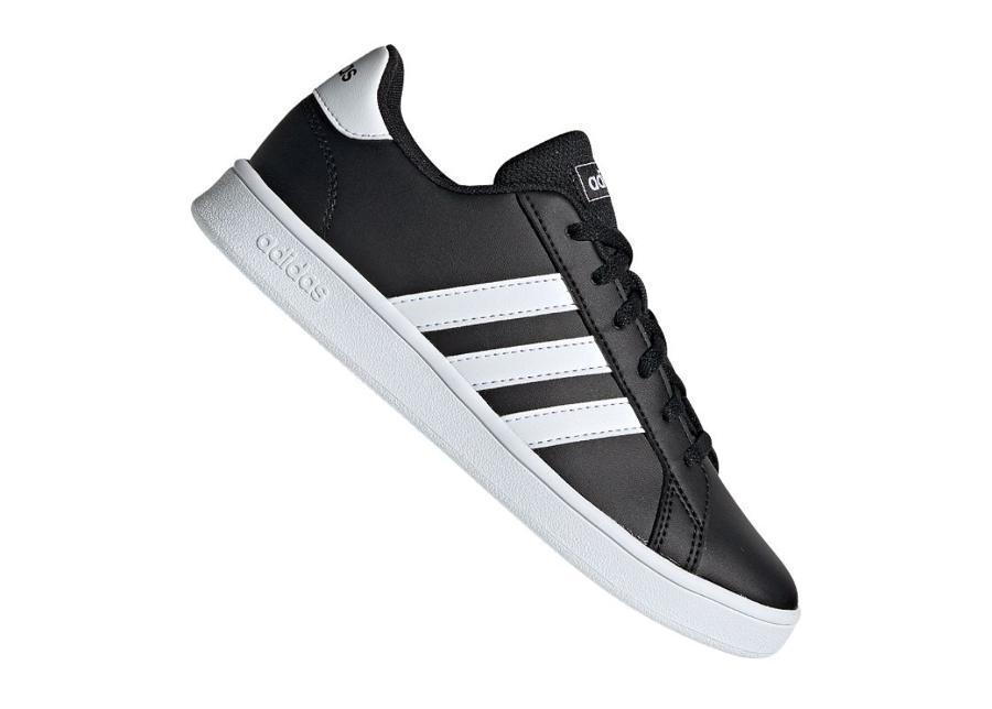 Lasten vapaa-ajan kengät adidas Grand Court Jr EF0102