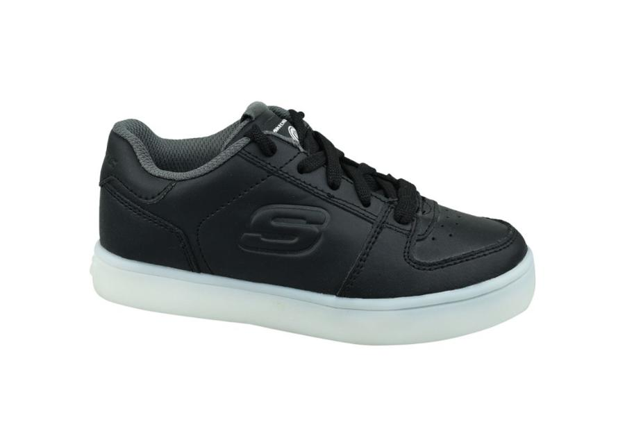 Lasten vapaa-ajan kengät Skechers Energy Lights Jr 90601L-BLK