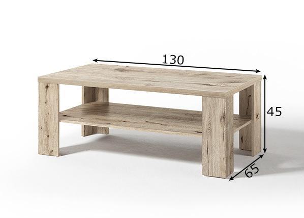 Sohvapöytä Matti 130x65 cm