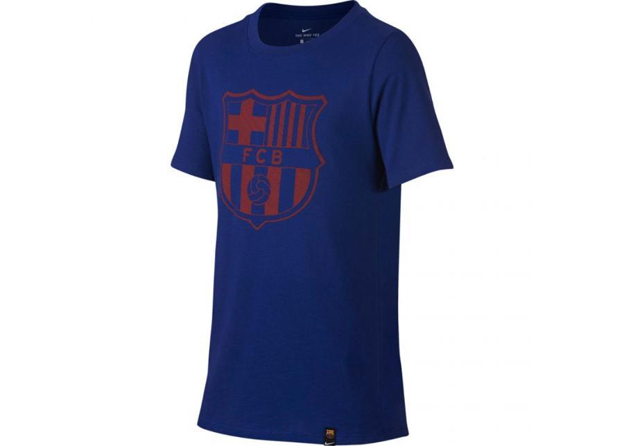 Lasten jalkapallopaita Nike FC Barcelona B NK CREST Junior 859192-410