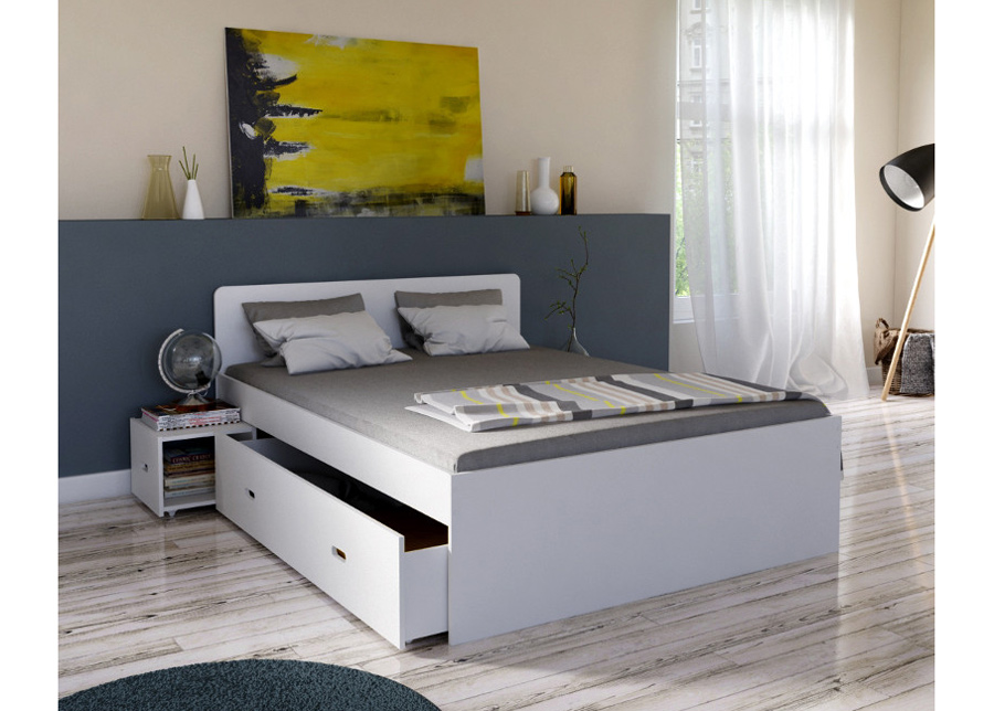 Sänky vuodevaatelaatikoilla Xenia 160x200 cm