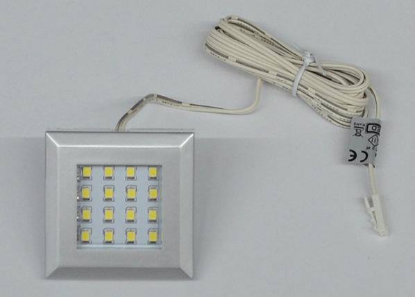 LED-valaistus hyllyn alle 2 kpl