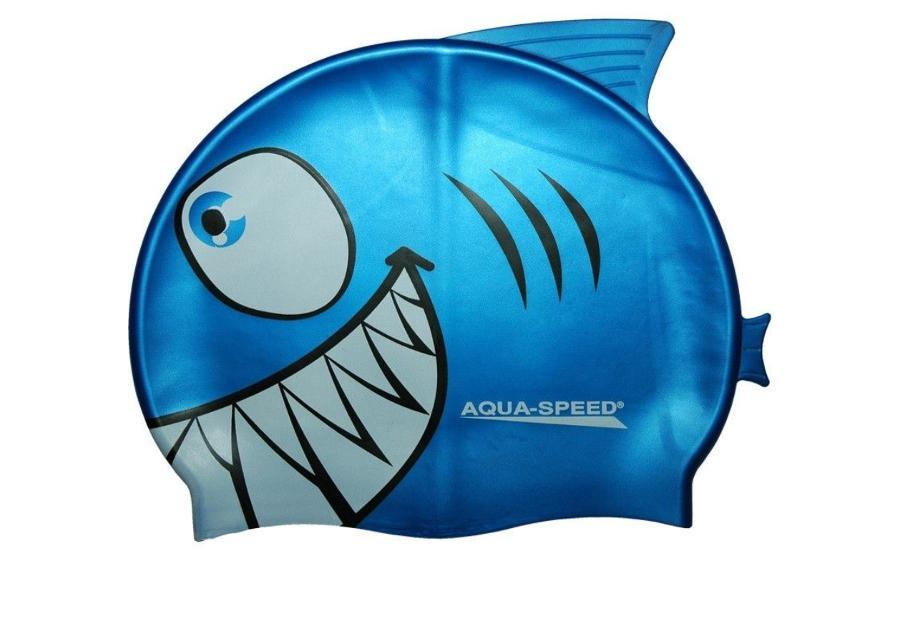 Lasten uimalakki Aqua-Speed Silikoni SHARK 1