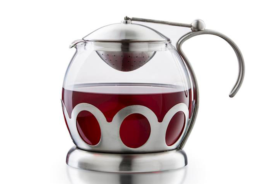 Lasinen teekannu 1,5 L