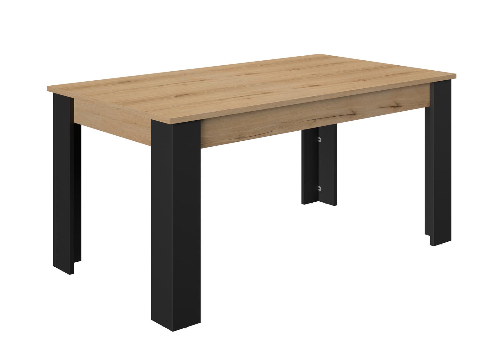 Jatkettava ruokapöytä Trendteam 160-200x90 cmTrust 160/200x90 cm