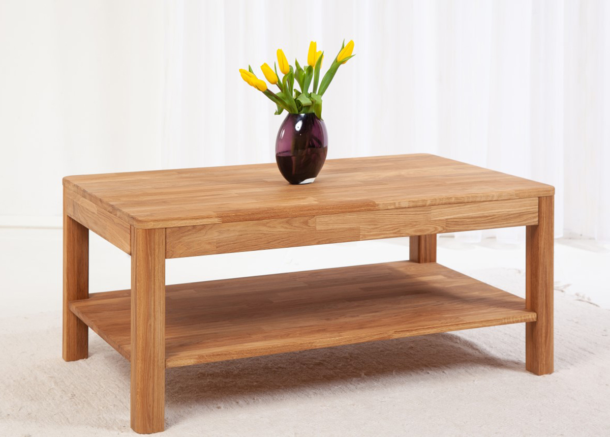 Sohvapöytä tammea Lausenne 105x65 cm