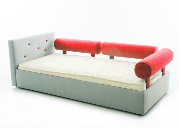 Funnest lastensänky Nest 70x155 cm + 3 rullatyynyä