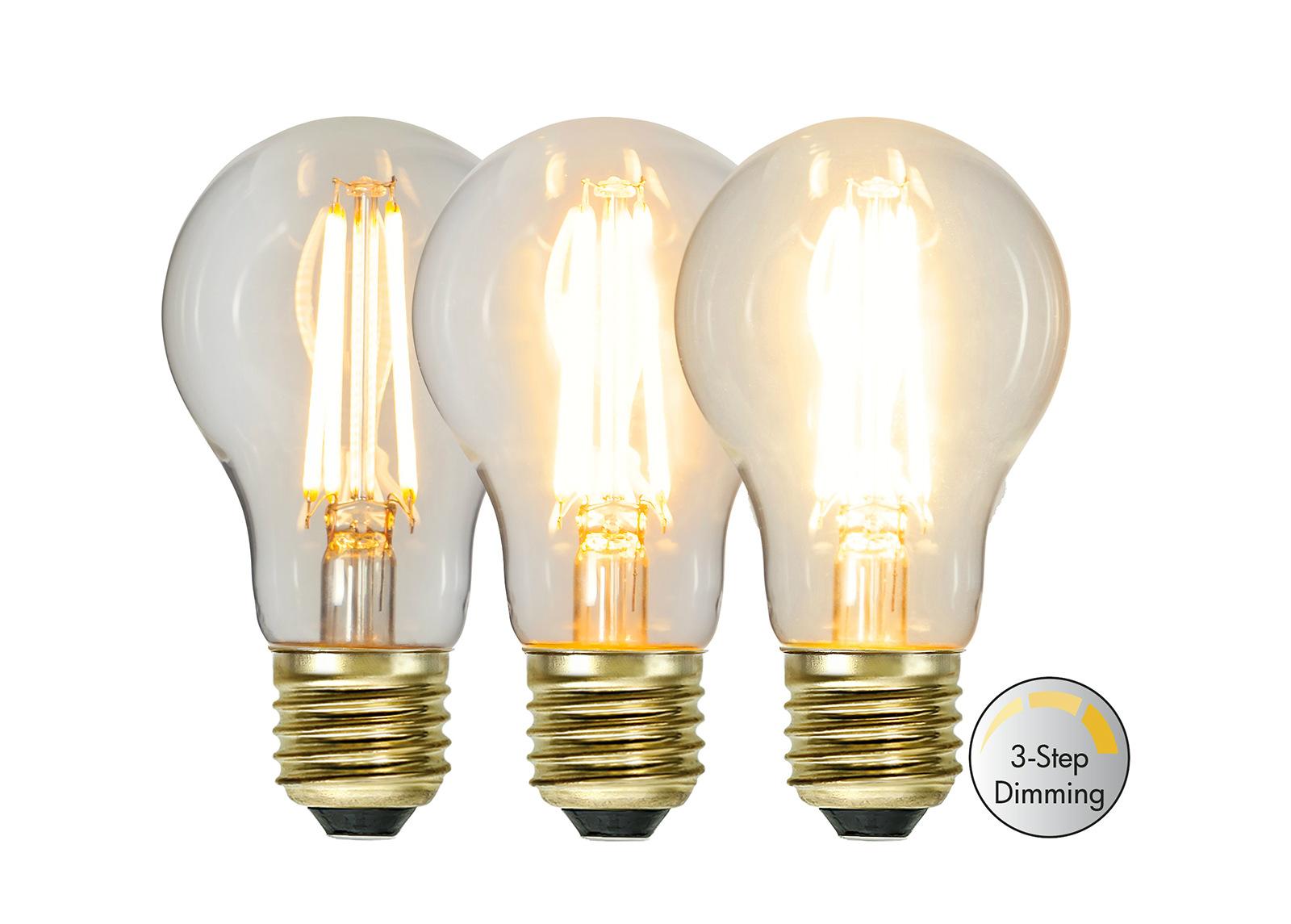 LED sähkölamppu E27 6,5 W