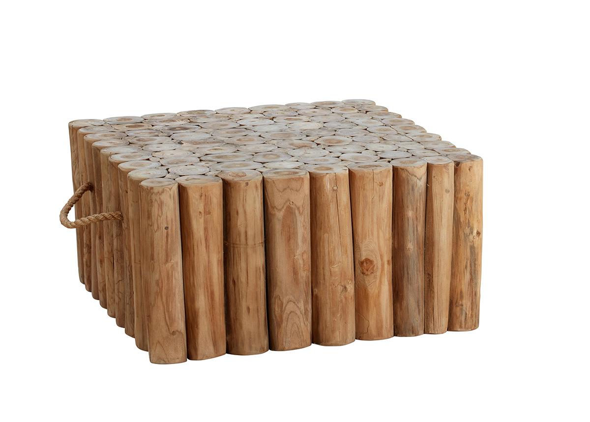 Puutarhapöytä Twiggy 70x70 cm