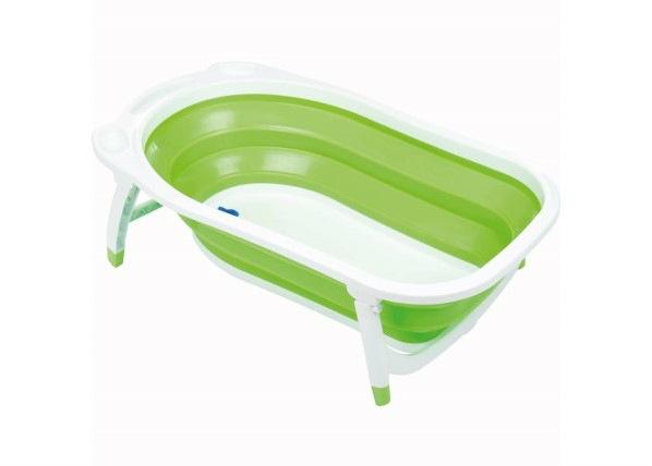 Kokoontaitettava vauvan kylpyamme Dori vihreä Fillikid