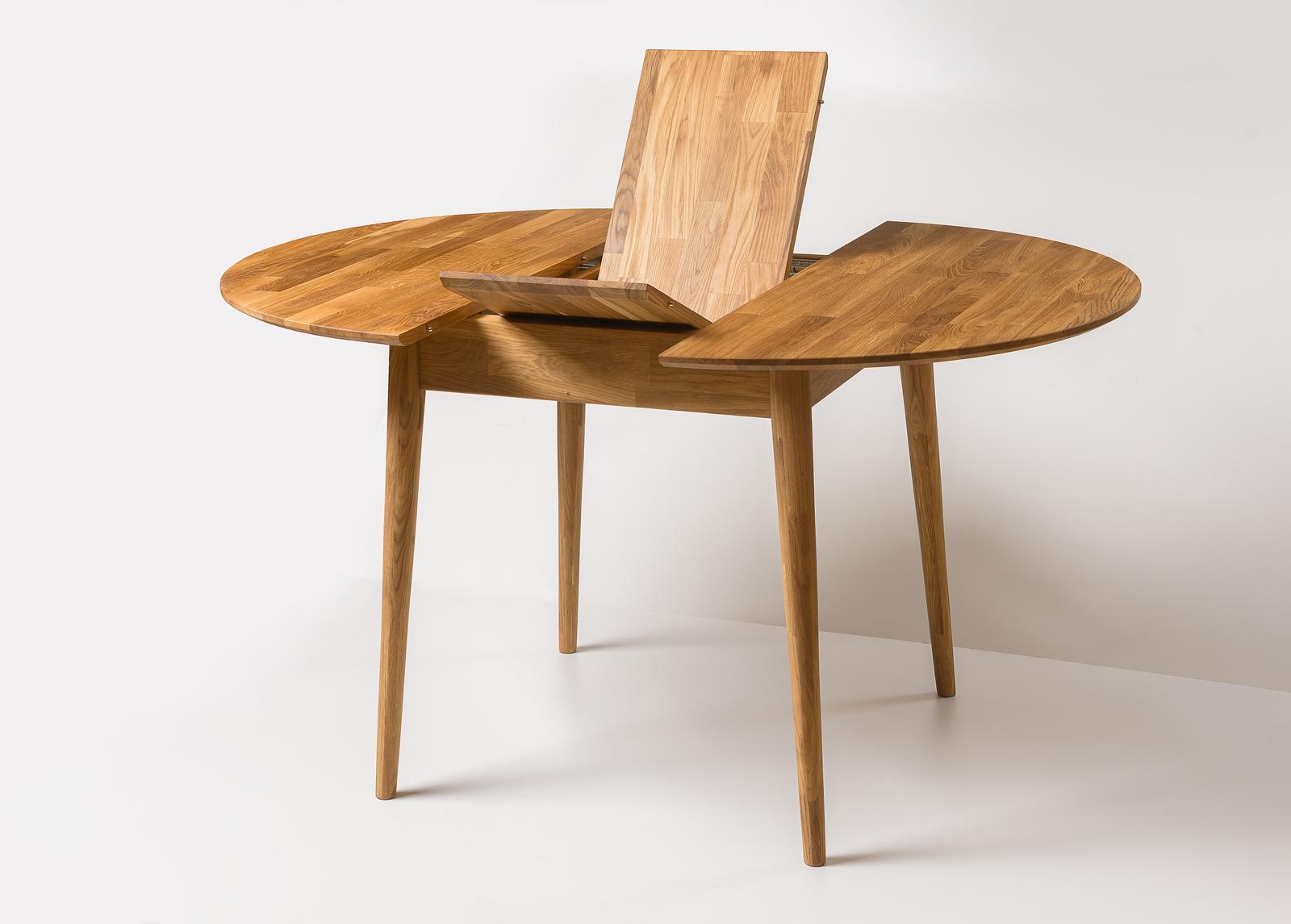 Tammi jatkettava ruokapöytä Scan 100/130x100 cm
