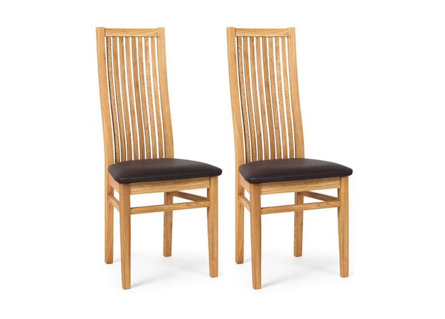 Tuolit SANDRA tammi, musta istuin 2 kpl
