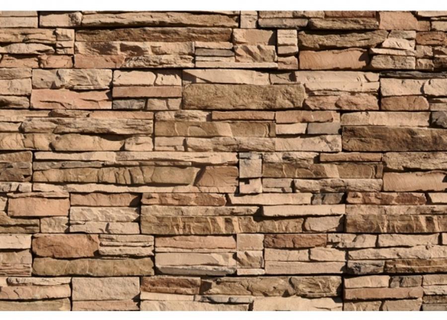 Fleece-kuvatapetti Stones 225x250 cm