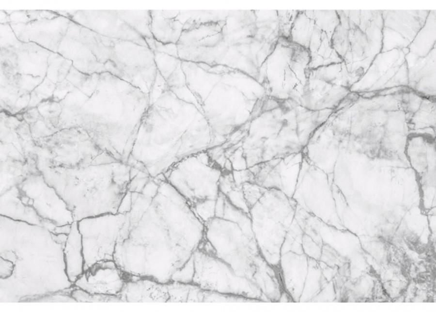 Fleece-kuvatapetti White marble 150x250 cm