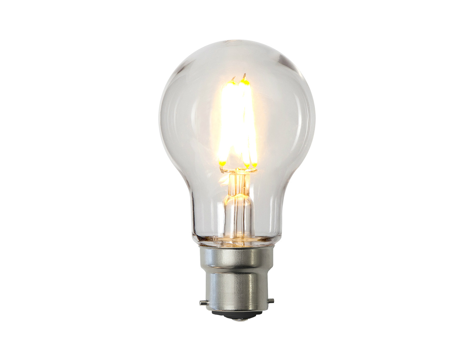 LED sähkölamppu B22 2,4 W
